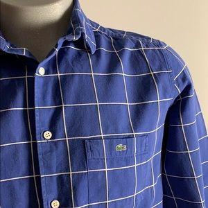 Vintage Blue Lacoste Button Down
